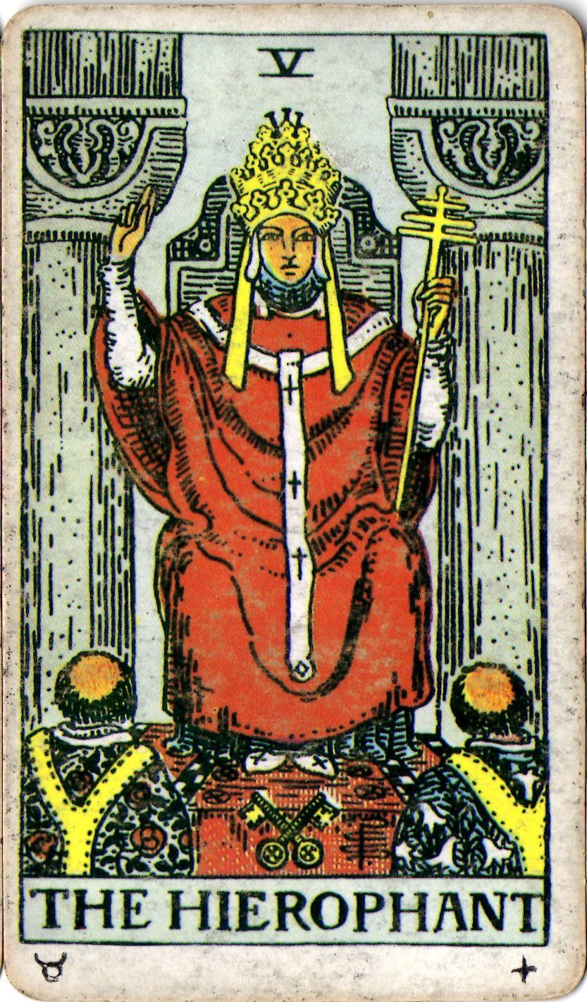 5 THE HIEROPHANT